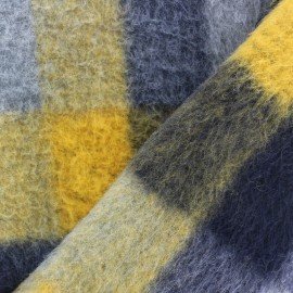 Square Wool Fabric - mustard x 10cm