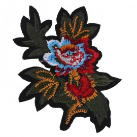 Thermocollant Colorful beauty flower - multicolore
