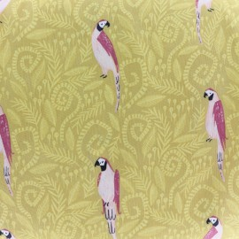 Fabric Dear Stella Birds in Paradise - gold x 21cm