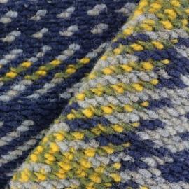 Tissu jersey maille tricot Warm - carreaux x 10cm