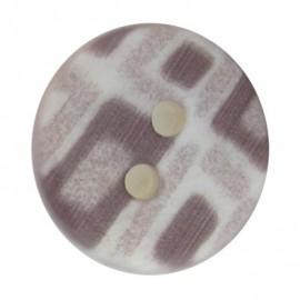 Bouton mosaïque gris