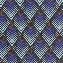 Simili cuir Tatou - Saphir x 10cm
