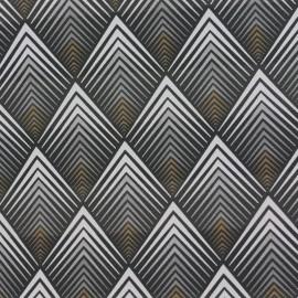 Simili cuir Tatou - argent x 10cm