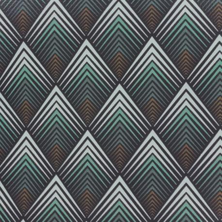 Simili cuir Tatou - jade x 10cm