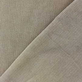 Milleraies velvet fabric - light grey 300gr/ml x10cm