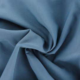 Smooth Water-repellent Softshell fabric – steel blue x 10cm