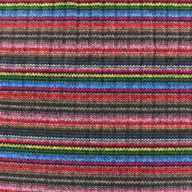 Better in colors stitched marcel jersey fabric - multicolor x 10cm