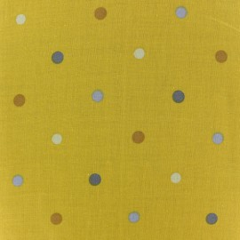 Tissu coton Petit rêve - pois x 10cm