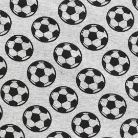 Tissu sweat léger Petits motifs - ballon x 10cm