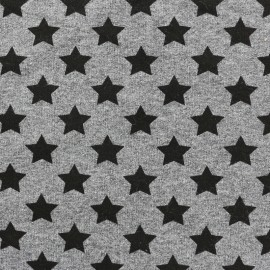 Tissu sweat léger Petits motifs - étoile B x 10cm