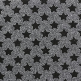 Petits motifs light sweat fabric - star C x 10cm