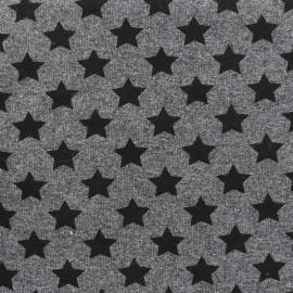 Tissu sweat léger Petits motifs - étoile C x 10cm