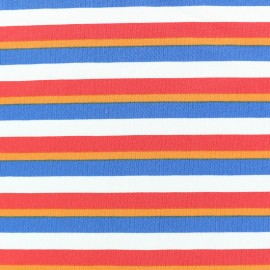 King of Stripes Jersey fabric - stripes x 10cm