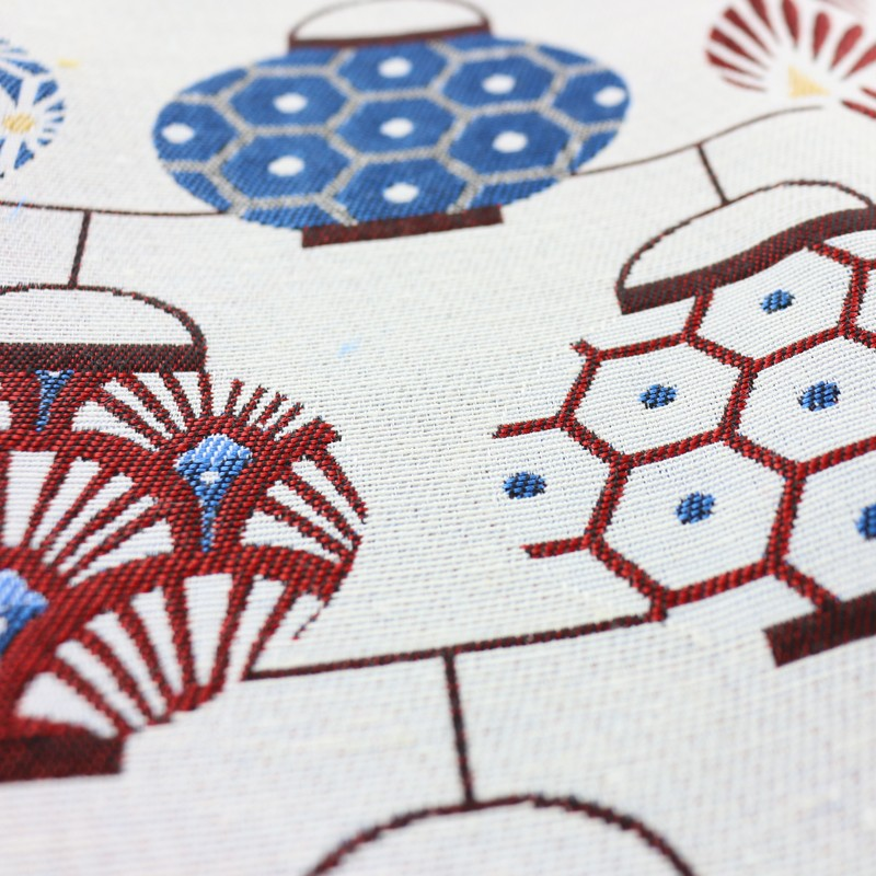 Tissu jacquard d 39 ameublement tissu jacquard toile - Edmond petit tissus d ameublement ...
