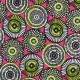 Cretonne cotton Fabric Soweto - pink x 10cm