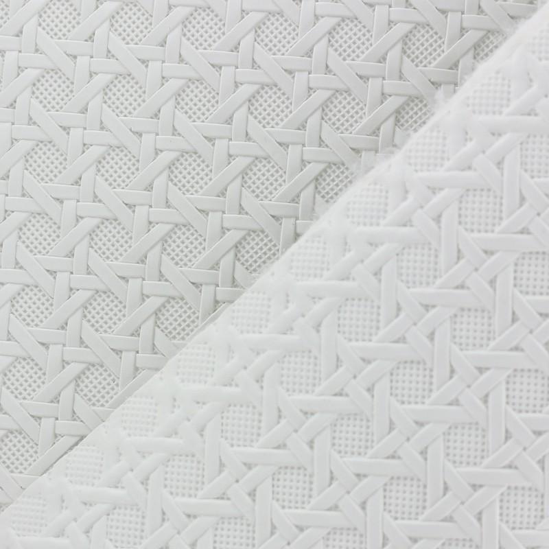 Simili cuir sur feutre troquet blanc x 10cm - Enlever feutre sur tissu ...