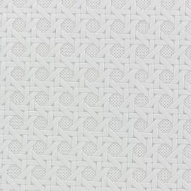 Troquet faux leather - white x 10cm