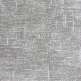 Tissu coton enduit Linum - gris x 10cm