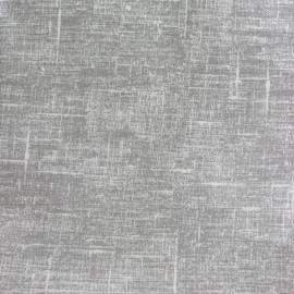 Tissu toile cirée Linum - gris x 10cm