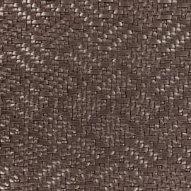 Simili cuir sur feutre Charlize - brun x 10cm