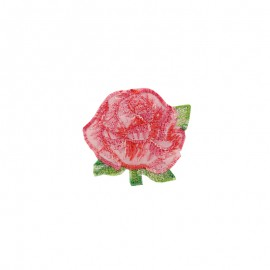 Thermocollant Little Big Flower - rose