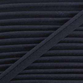 All Textile Piping - midnight blue x 1m