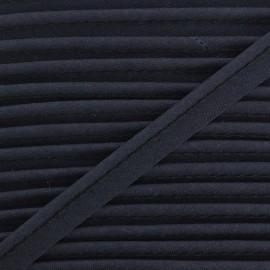 Passepoil tout textile bleu nuit x 1m