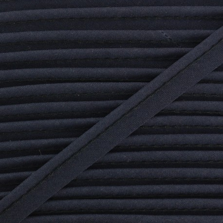 All Textile Piping - midnight blue