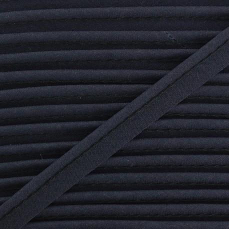 Passepoil tout textile bleu nuit