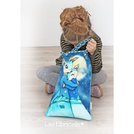 ♥ Coupon 29 cm X 43 cm ♥ Biche format tote bag by Laëtibricole