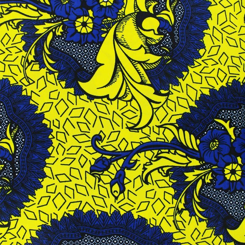 Tissu d habillement imprimé Wax - Ousmane dfe8ea130bf