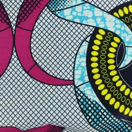 Tissu Wax - Panya x 10cm