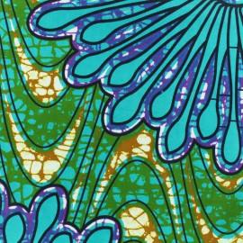 Tissu Wax - Aneesa x 10cm