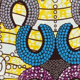 Tissu Wax -  Akilah x 10cm