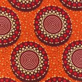 Tissu Wax - Ghanima x 10cm
