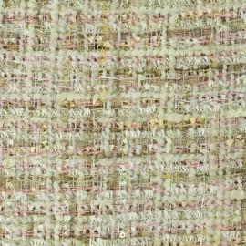 Tissu Tweed Song - multi beige x 10cm