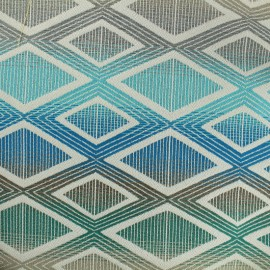 Jacquard Canvas Fabric Yoga - multicolor x 10cm