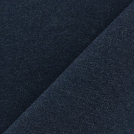 Light jogging Jersey Fabric - midnight blue x10cm
