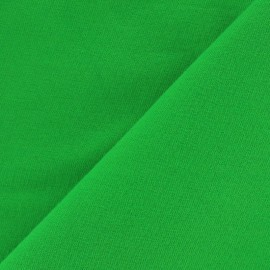 Light jogging Jersey Fabric - green x 10cm