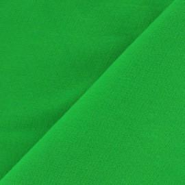 Tissu sweat léger Uni - vert x 10cm