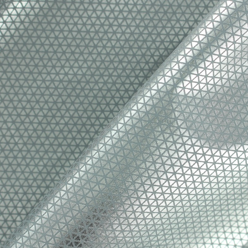 Imany Polyester Fabric Silver Triangle X 10cm