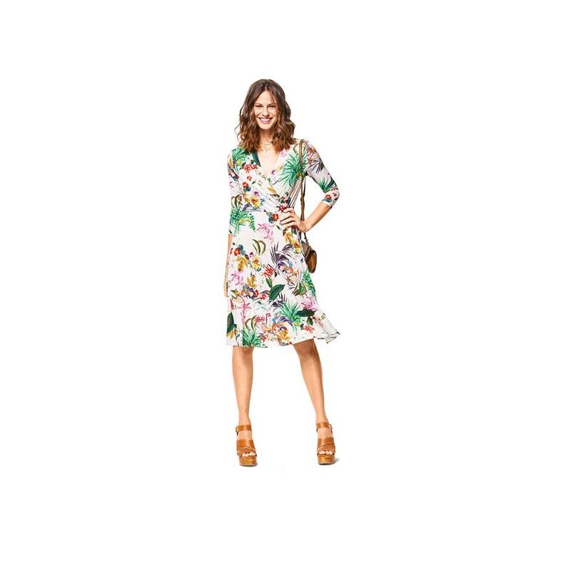 Burda Style Women Dress And T Shirt Sewing Patterns Burda N 6443