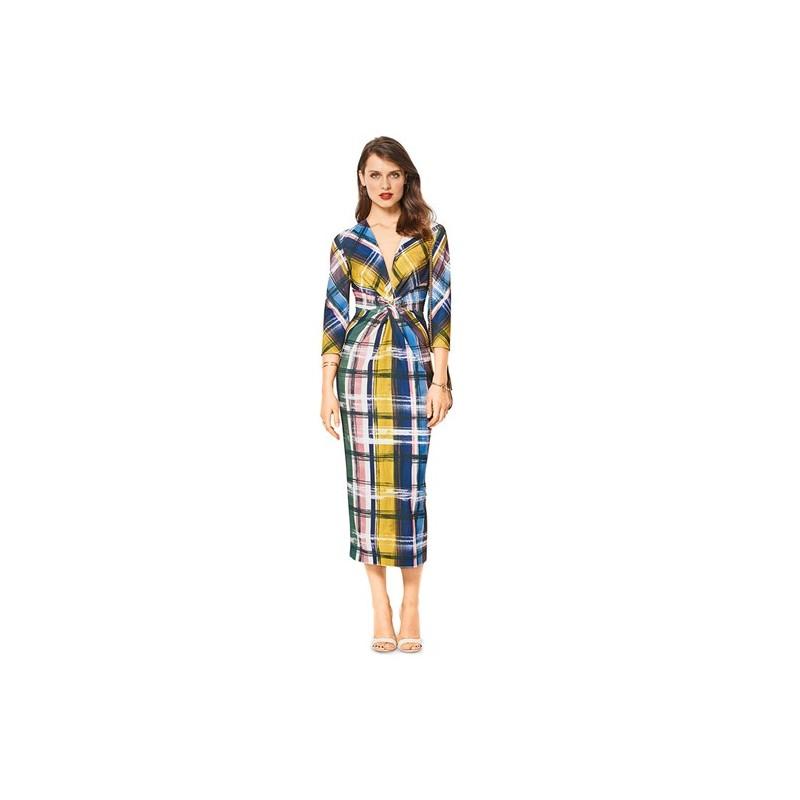 Burda Style Women Dress Sewing Patterns Burda N 6442