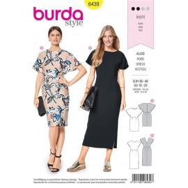 Sewing pattern Dress – Cape Effect Burda N°6439