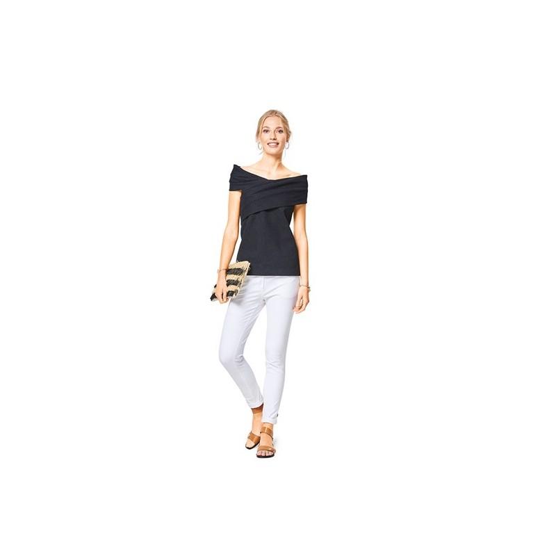 Burda Style Women Top Sewing Patterns Burda N 6435