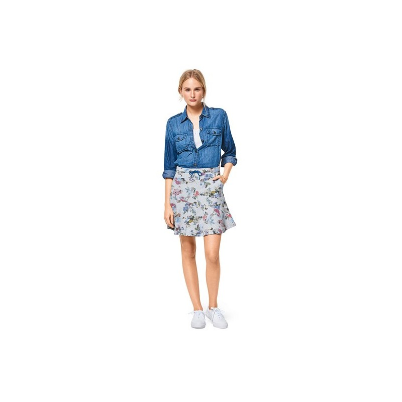Burda Style Young Women Skirt Sewing Patterns Burda N 6410