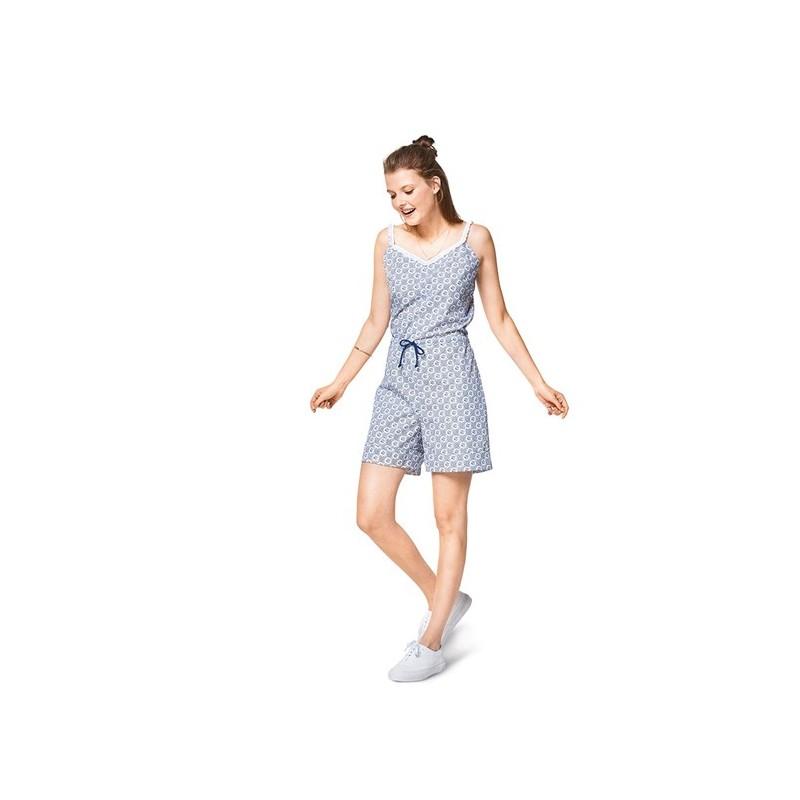 Burda Style Young Women Overalls Sewing Patterns Burda N 6408