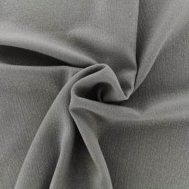 Tissu crêpe Pailleté - taupe x 10cm