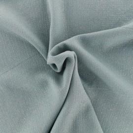 Tissu crêpe Pailleté - vert x 10cm