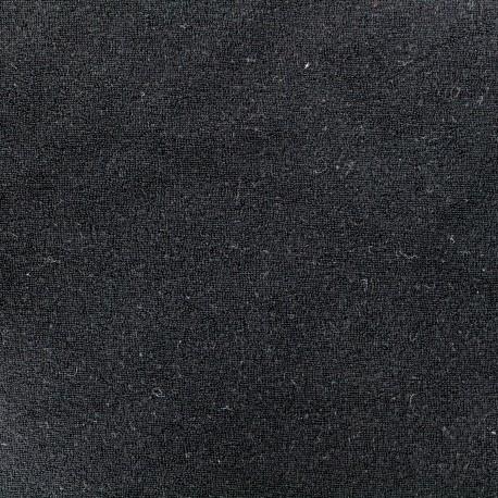 Jersey towel fabric - black x 10cm
